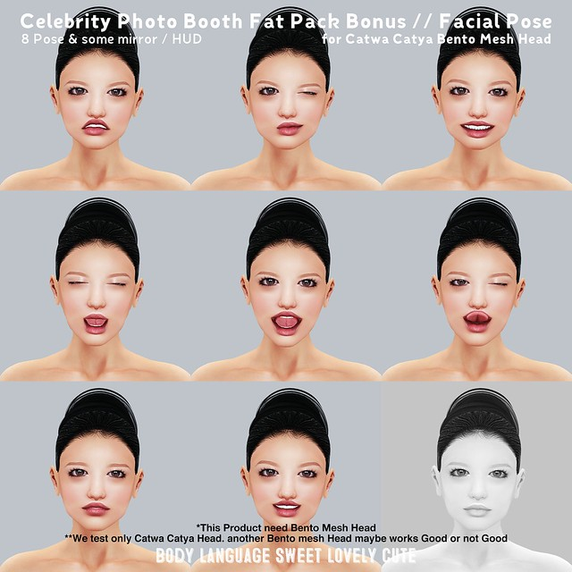 Celebrity Photo Booth Fat Pack Bonus - Facial Pose