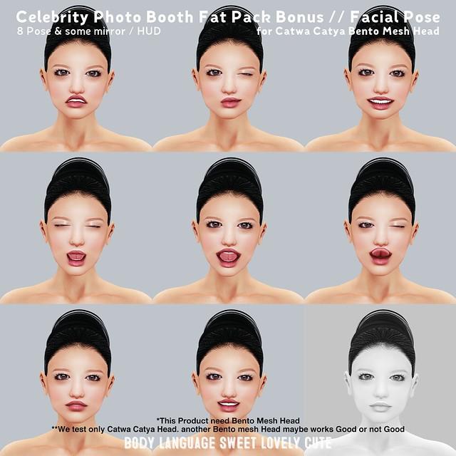 Celebrity Photo Booth Fat Pack Bonus - Facial Pose