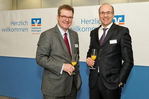 Neujahrsempfang der Volksbank Göttingen 4.1.2017