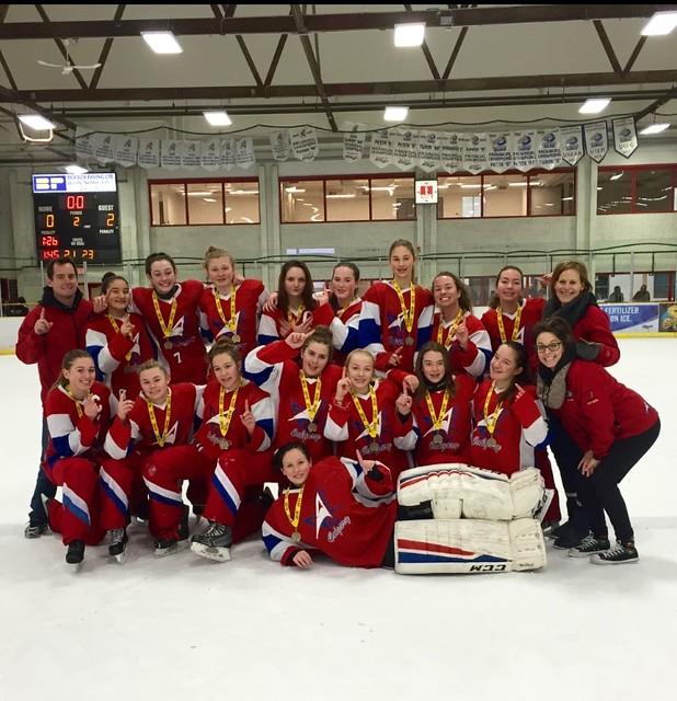 Dec 16-18, 2016 - Lacombe IceBrkr - U16AA Pace wins Gold