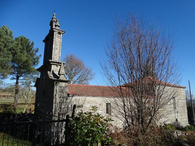 Iglesia de San Mamede de Forcas en Parada de Sil