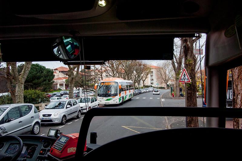 bus, Biarittz