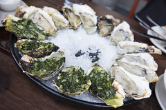 Grilled Oysters, Hog Island Oyster Co., Ferry Building Marketplace, San Francisco