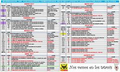 Calendario federacion yudo