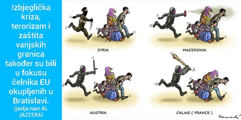 Topla ruka demokratije i izbjeglice