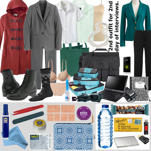 Faculty Interview Packing List (clothing, day-of items)
