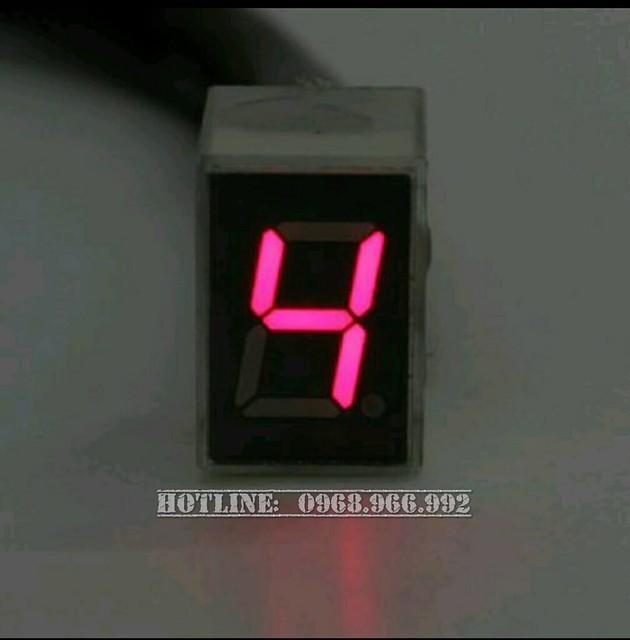 Báo số điện tử LED - Số 4