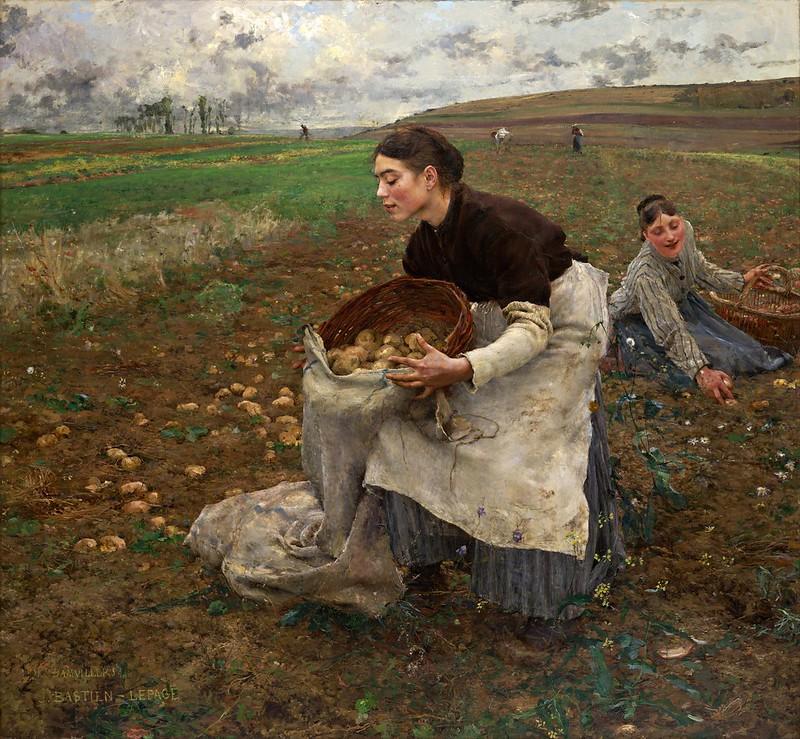 Jules Bastien-Lepage - October (1878)