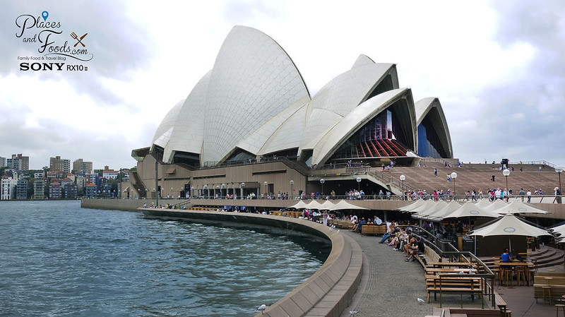sydney opera house side wide shot