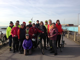 Clarion new year ride to Carat's cafe