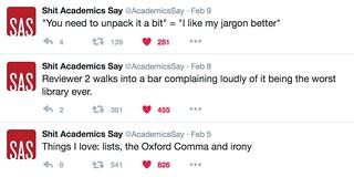 Shit Acadmics Say 3
