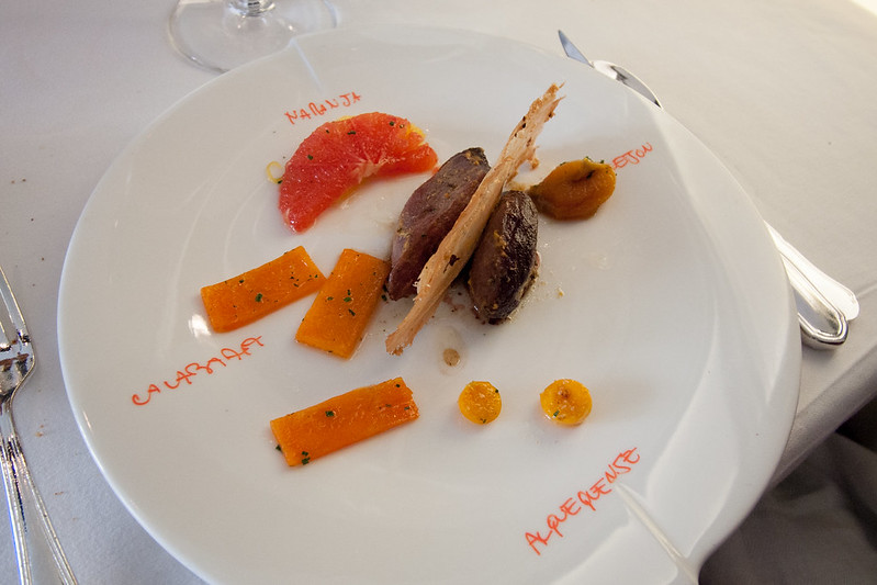 Orange duck, restaurante ARZAK