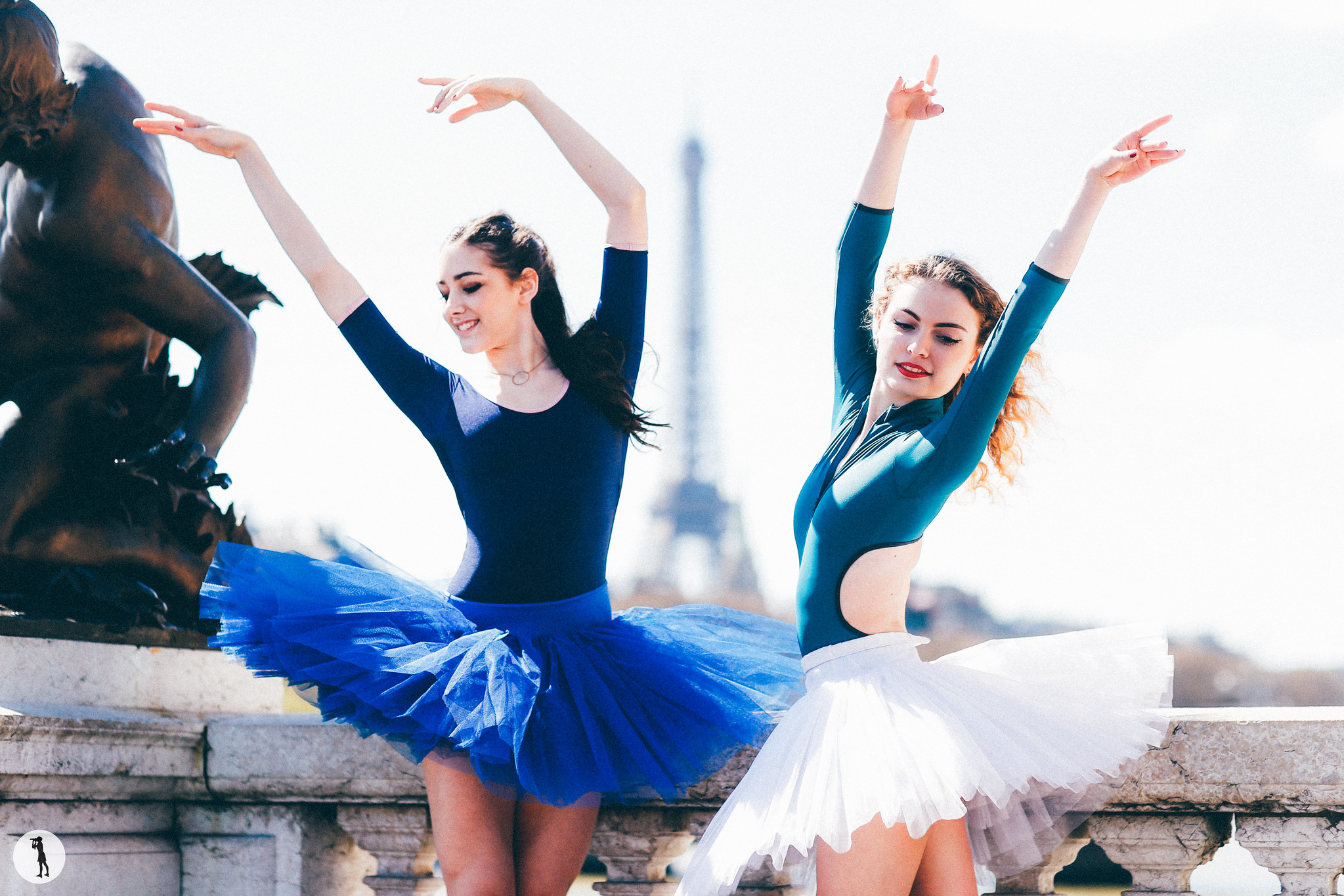 Ballet dancers from Opera Paris School. Photo shooting by Marie-Paola BERTRAND-HILLION