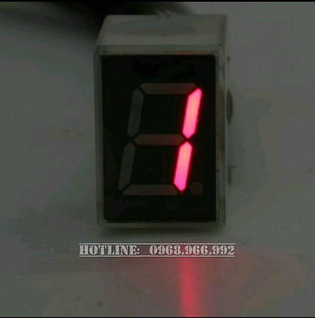 Báo số điện tử LED - Số 1