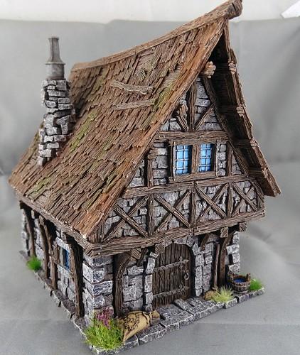 Tabletopworld Townhouse & MiniMonster Brunnen