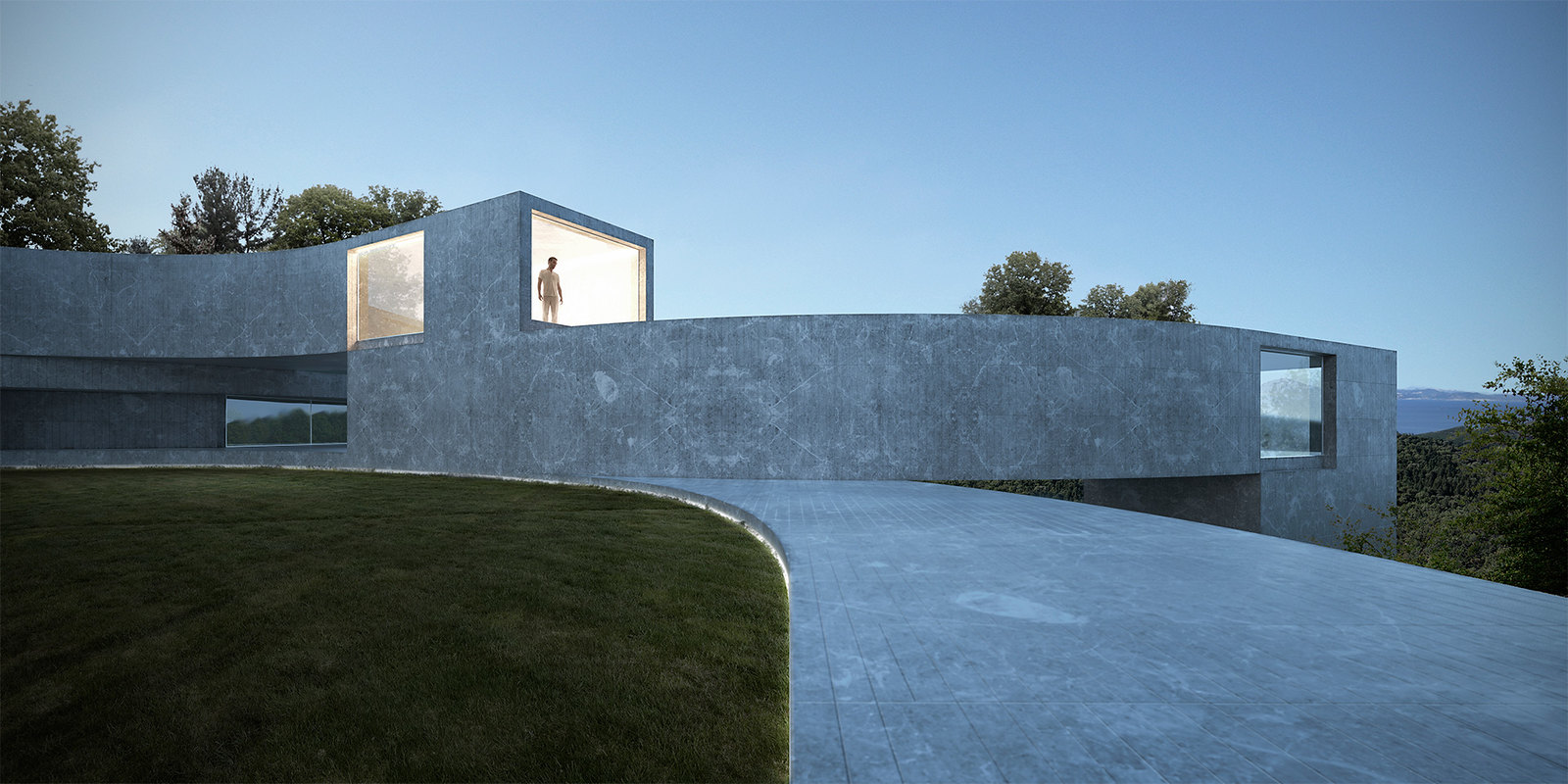 Spain architecture. House of the seven gardens 003