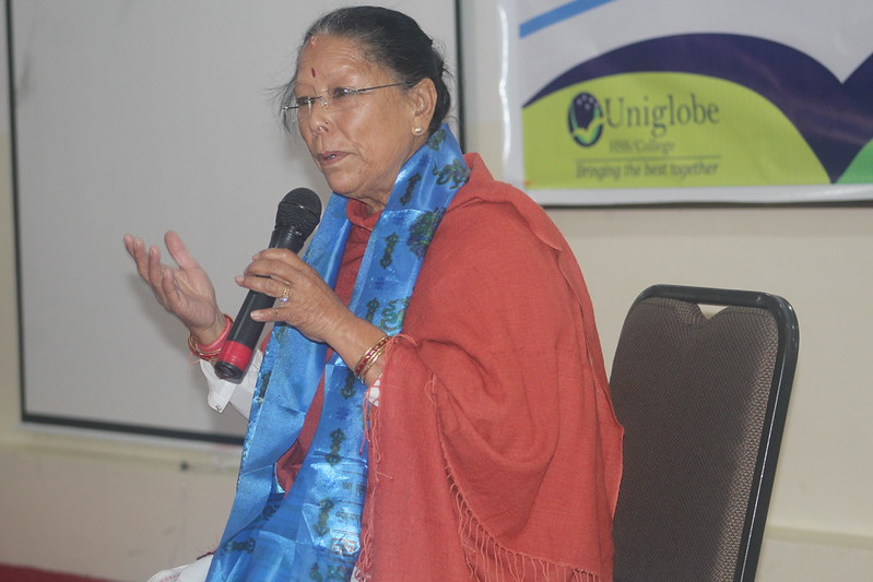 Interaction with Business Leader Ms Laxmi Sharma_02 Jan 2016
