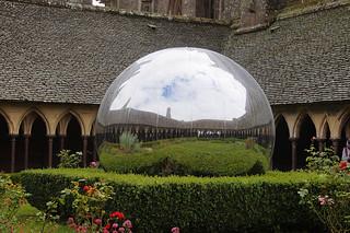 051 Kloostergangen Mont Saint-Michel