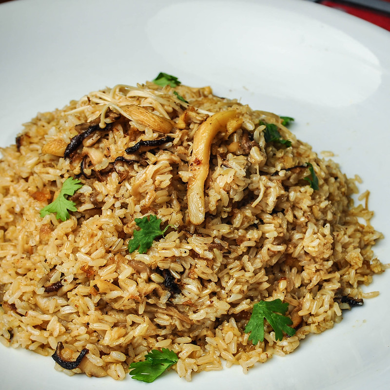 Bone Marrow Mushroom Rice