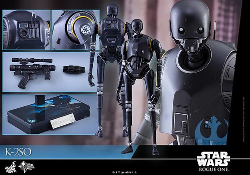 Rogue One 1/6 K-2SO by Hot Toys