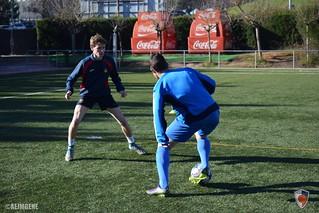 Entrenament de millora per a davanters (dia 2)