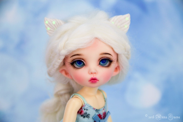 Arctic fox set for tiny