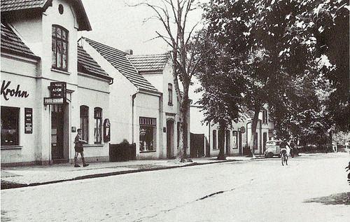 Bahnhofstraße in Osterholz-Scharmbeck 1930