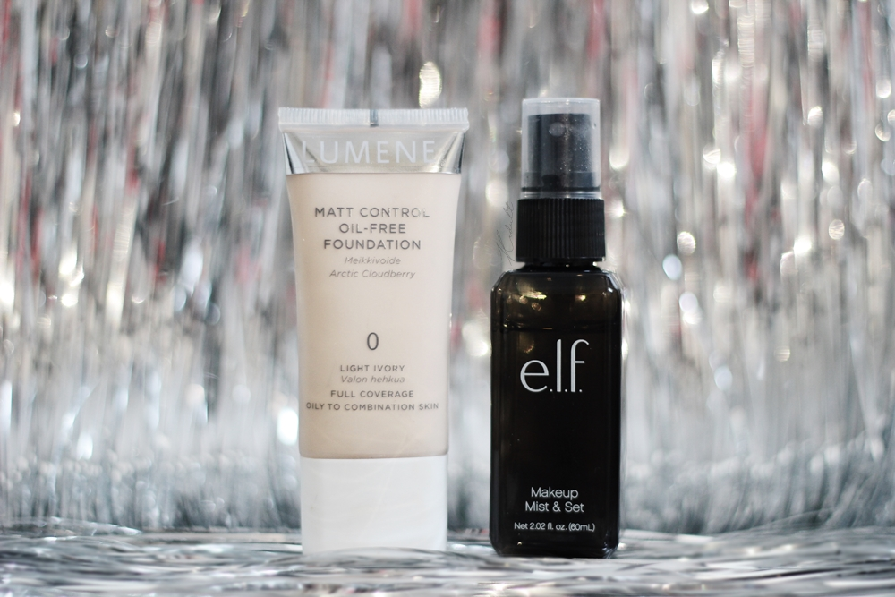 elf mist set lumene matt cover
