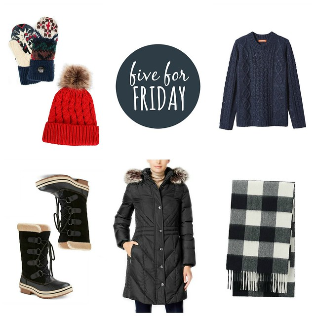 five for friday winter essentials 2016 | Style On Target blog