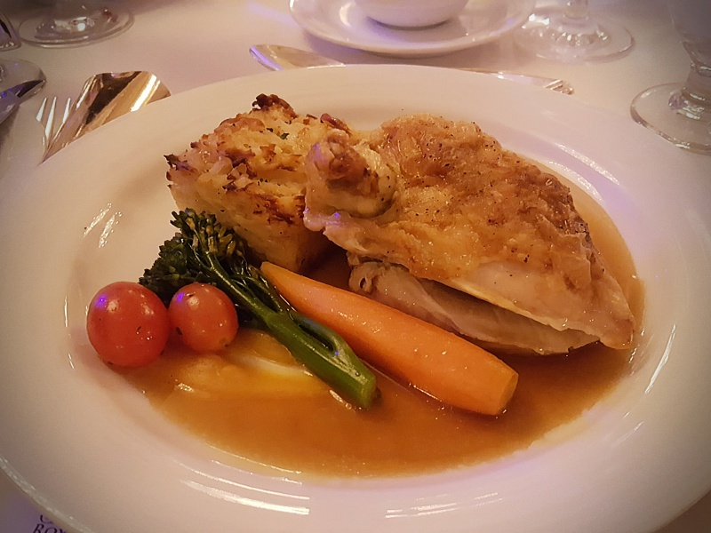 Majestic NYE dinner