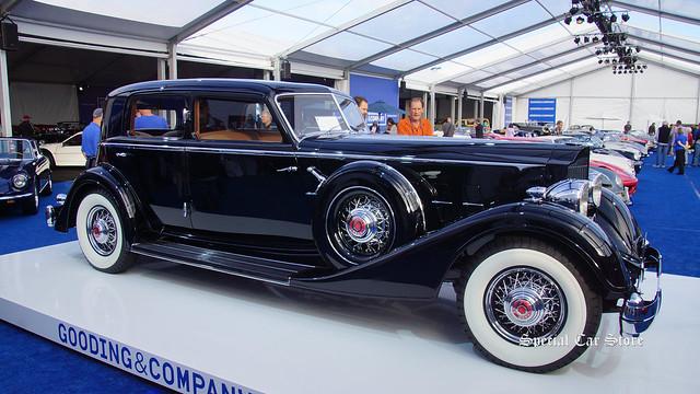 1934 Packard Twelve 1108 Sport Sedan