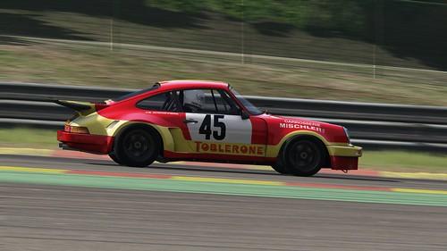Porsche 911 Carrera RSR - Porsche Club Romand - Bernard Cheneviere - European GT 1974 (4)