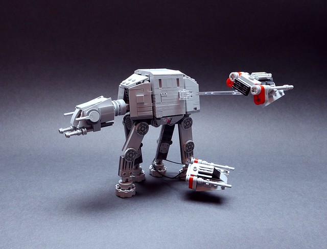 Nanofigure-scaled AT-AT v2.0