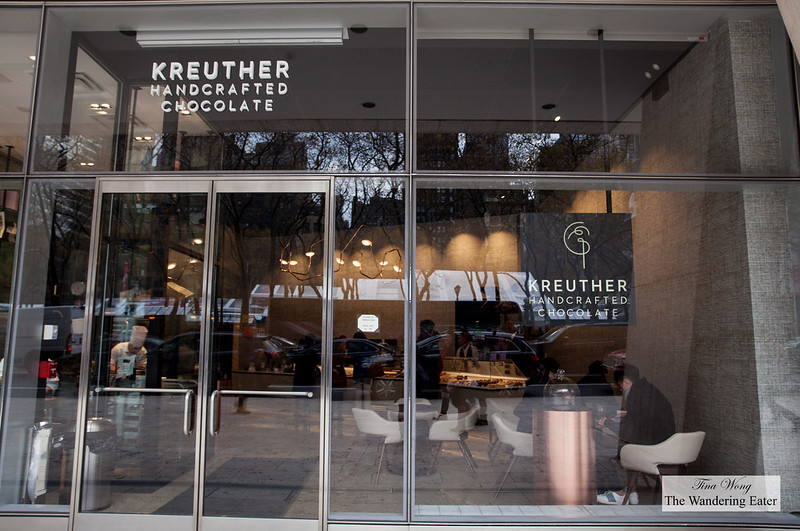 Exterior of Kreuther Handcrafted Chocolate