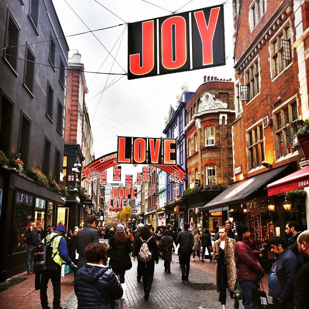 carnaby street christmas 2016