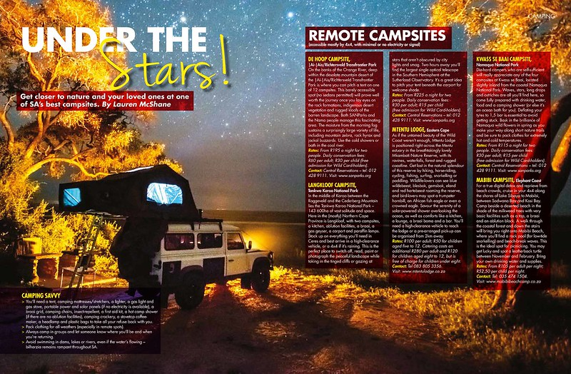 Sawubona Camping Spots