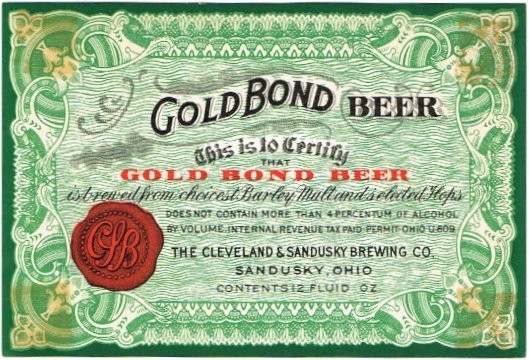 Gold-Bond-Beer-Labels-Cleveland-and-Sandusky-Brewing-Co