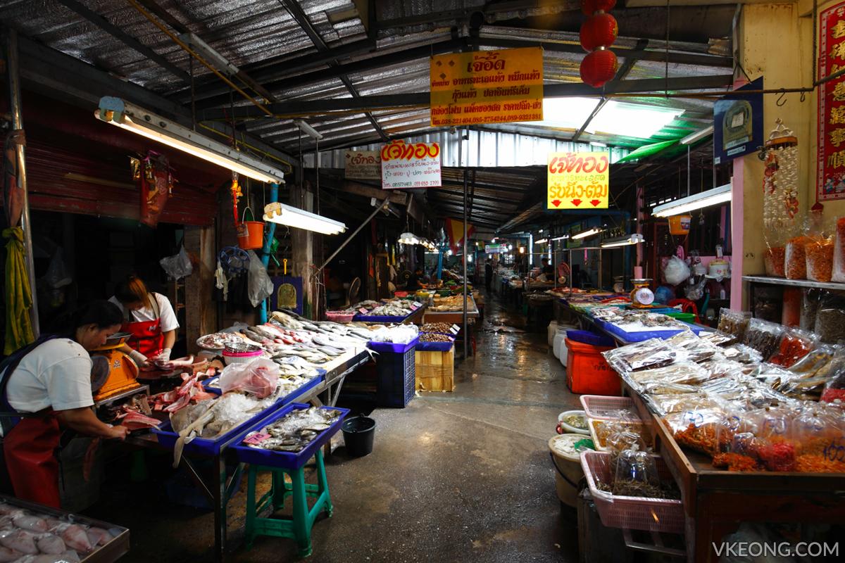 Lan Pho Fish Market Pattaya