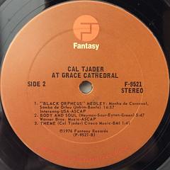 CAL TJADER:AT GRACE CATHEDRAL(LABEL SIDE-B)