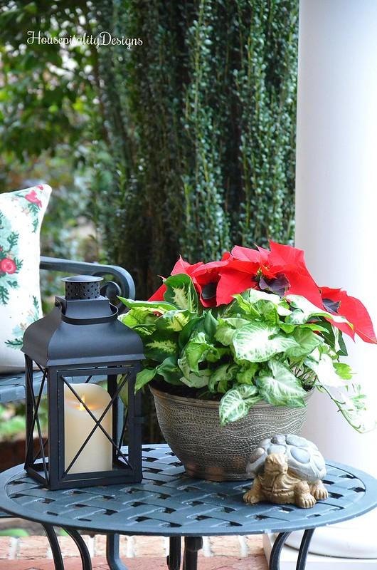 Poinsettia Bowl-Lantern-Housepitality Designs