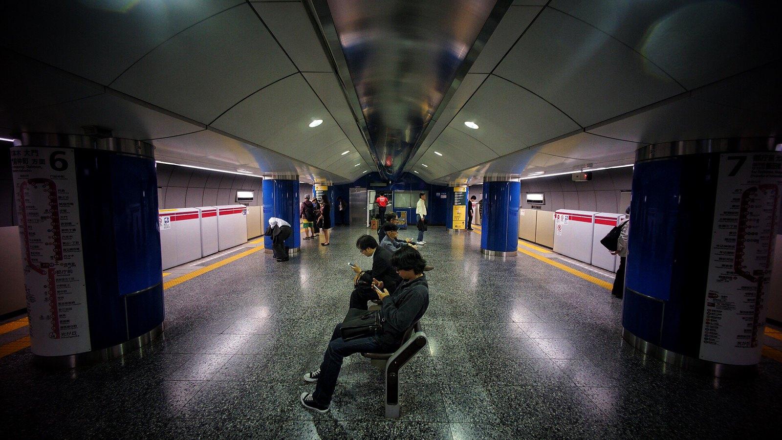 Tokyo Subway #SonyA7 #Voigtlander12mm #japan15 #foto