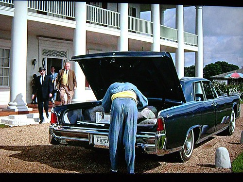 1964 lincoln continental in the movie james bond 007 goldfinger flickr photo sharing. Black Bedroom Furniture Sets. Home Design Ideas