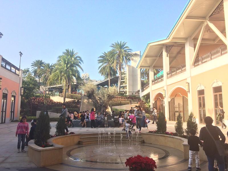 麗寶Outlet Mall 噴水池