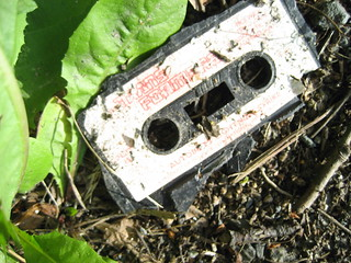 Discarded Transformers Cassette Tape At The Side Of The Road, Clarach Valley, 23-07-06 | by DG Jones