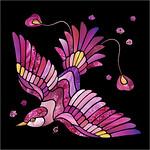 Fuchsia Bird / Птица-фуксия