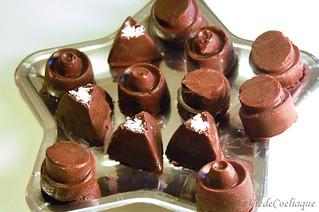 chocolats noix de coco sans gluten