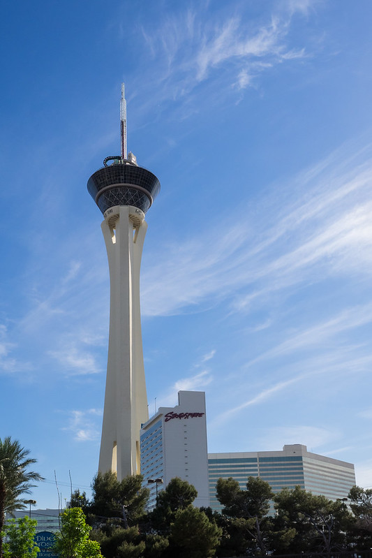 Las Vegas with kids. Stratosphere Hotel Las Vegas. Image: Andreas Wulff, CC.