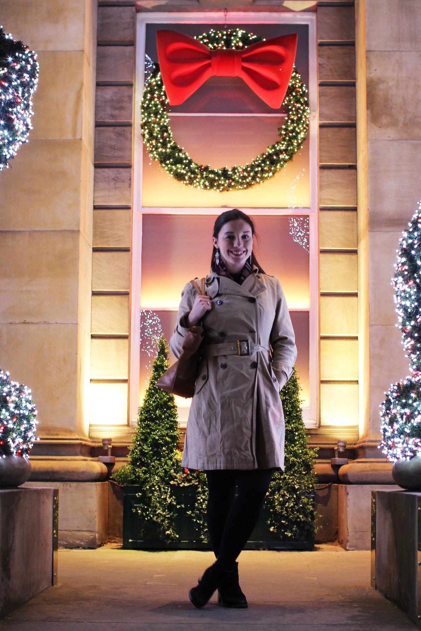 Christmas The Dome Edinburgh cocktails lifestyle blogger UK