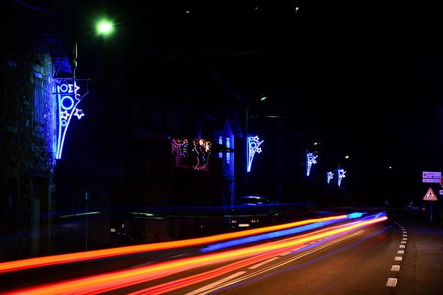 Romégier (Pont-de-Labeaume), illuminations 2014