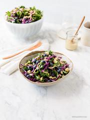 Kale Blueberry Salad